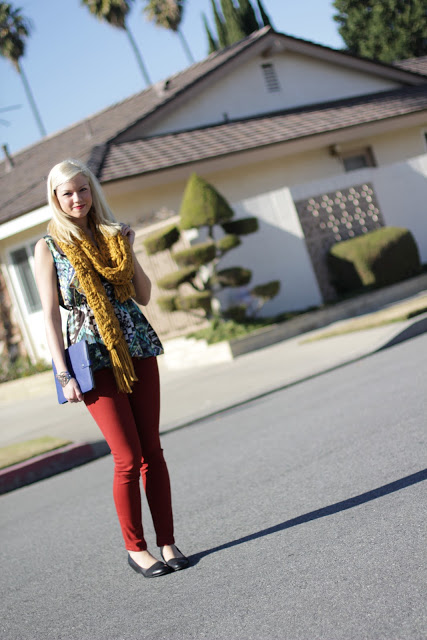 Outfit Post: Feeling Vibrant