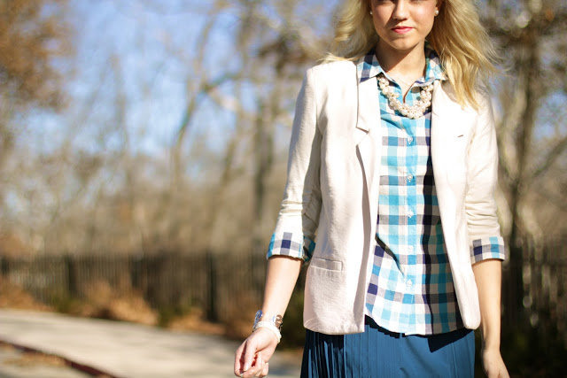 Outfit Post: Pretty in Pleats