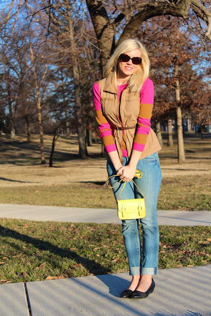 Outfit Post: Pop of Neon