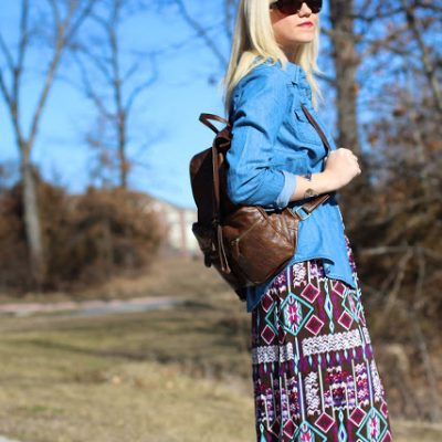 Outfit Post: Patterned