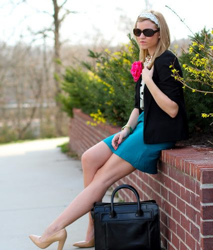Outfit Post: Professionally Bright
