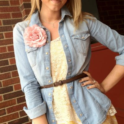 Outfit Post: Spring Textures & Layers