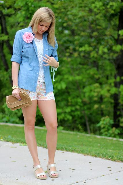 Outfit Post: Floral Craze
