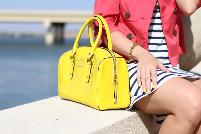Outfit Post: Nautical Neon