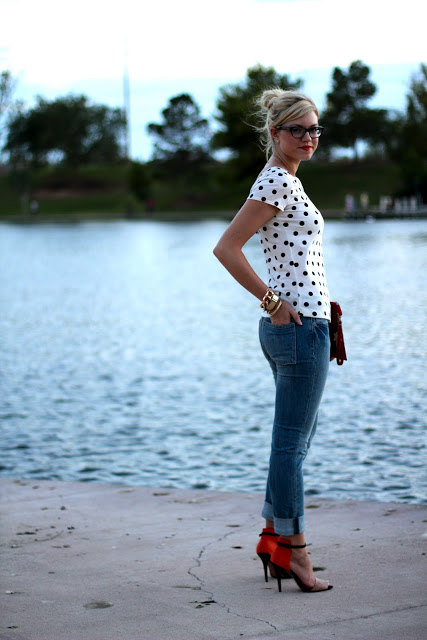 Video Outfit Post: Spotted