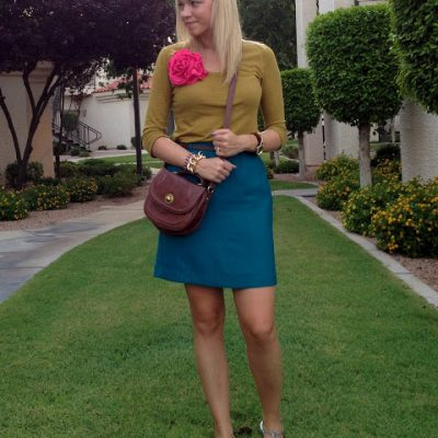 Outfit Post: Colorfully Neutral