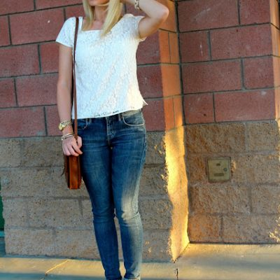 Outfit Post: Lace & Bows