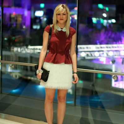 Outfit Post: Wine and Ice