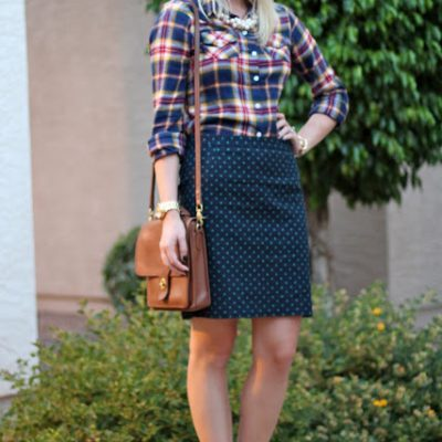 Outfit Post: Perfectly Plaid