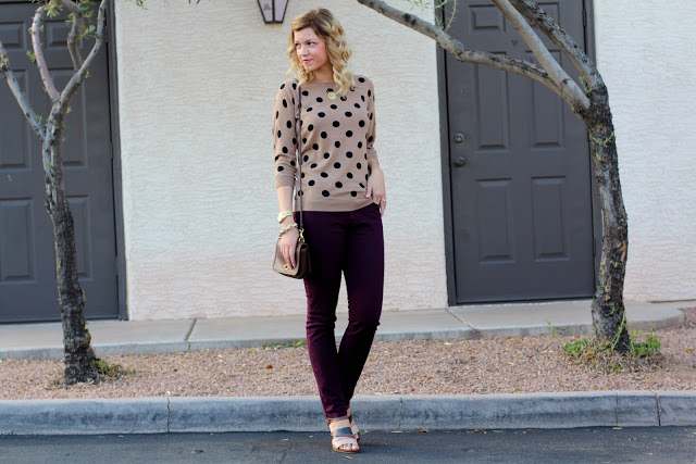 Outfit Post: Oxblood + Camel
