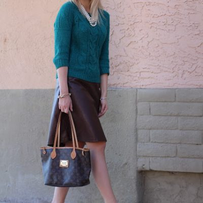 Outfit Post: Emerald
