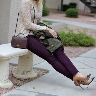 Outfit Post: Plum+Olive