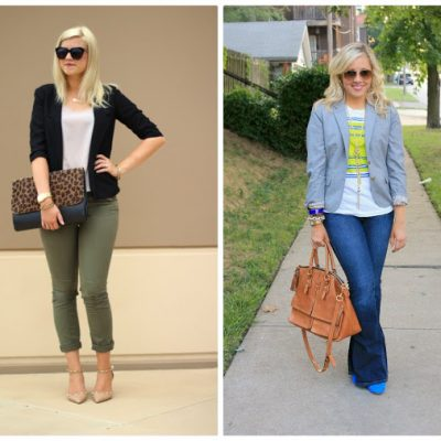 Spotlight Weekly Link-Up | Week 8: Blazer Style