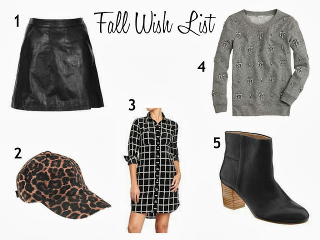 Fall Wish List + Curling Wand Giveaway