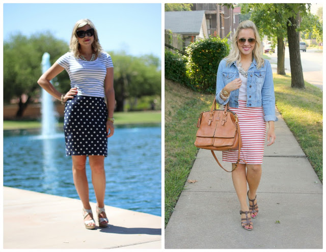 Spotlight Weekly Link-Up | Week 9: Pencil Skirts