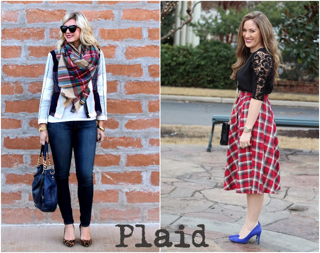 Blogger Collaboration | Styling Plaid