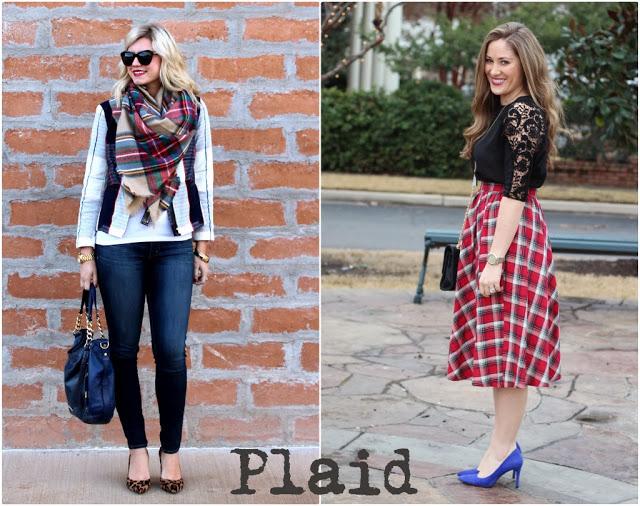 Blogger Collaboration   Styling Plaid