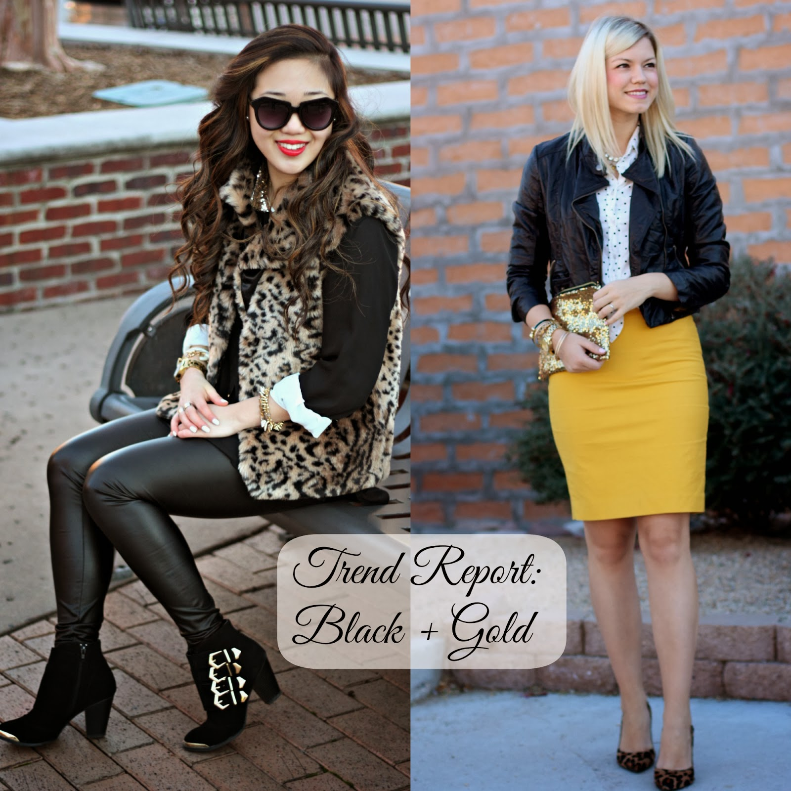 Blogger Collaboration | Black & Gold