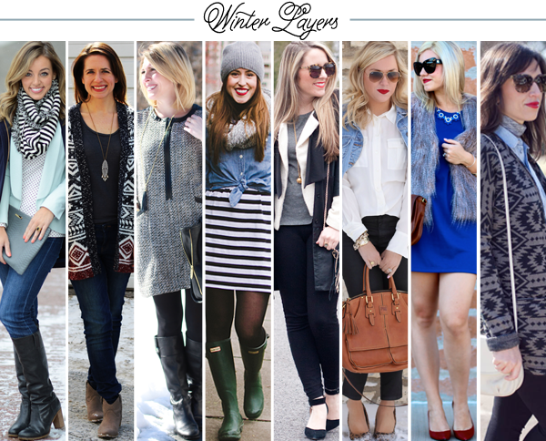Bloggers Who Budget: Winter Layers