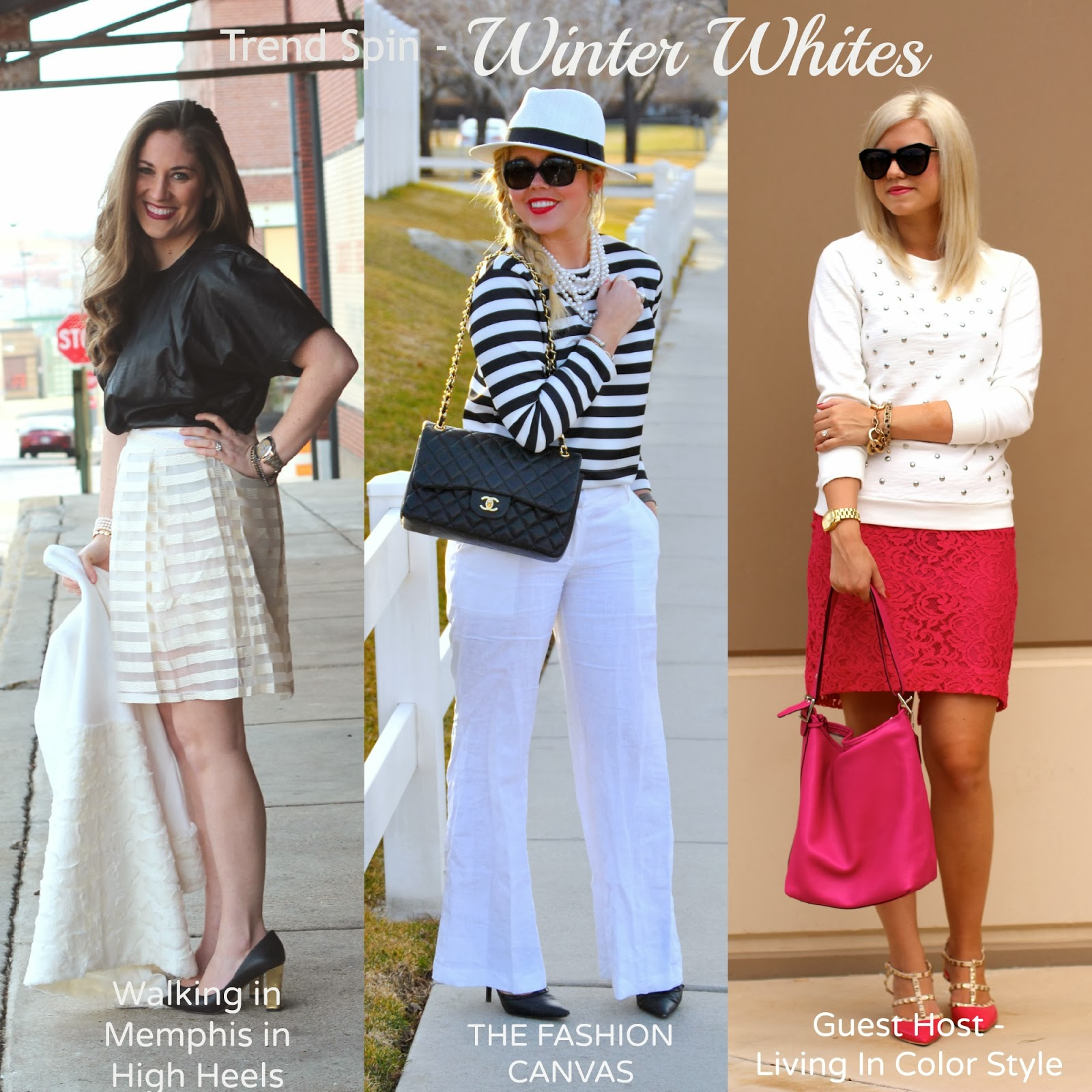 Trend Spin Link-Up | Winter Whites