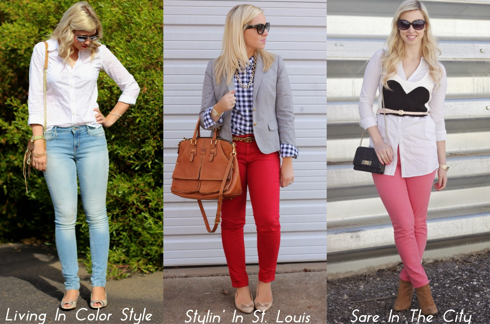 Spotlight Weekly Link-Up | Week 33: Button-Up Tops