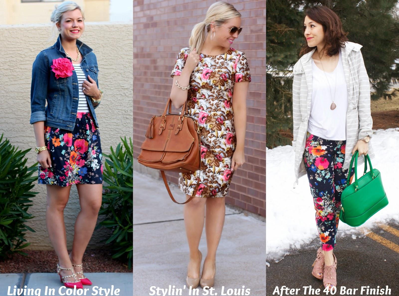 Spotlight Weekly Link-Up Week 34: Floral Print