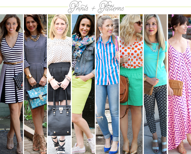 Bloggers Who Budget: Prints and Patterns