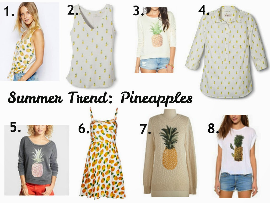 Summer Trend: Pineapples