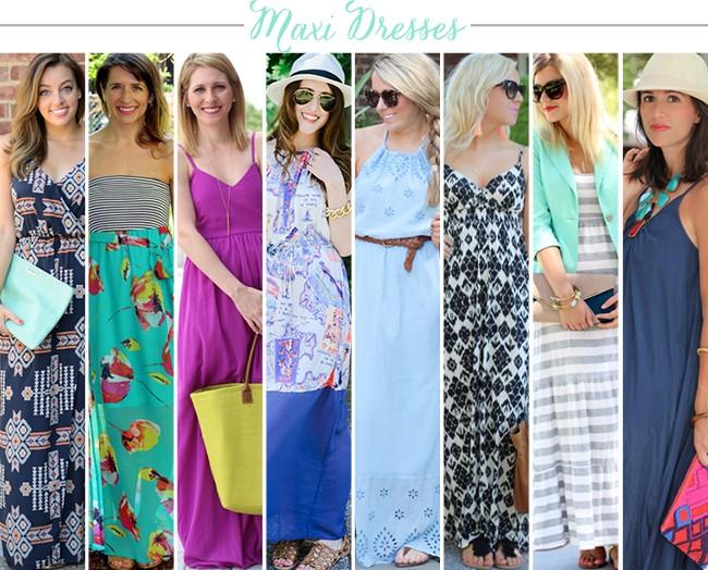 Bloggers Who Budget: Maxi Dresses