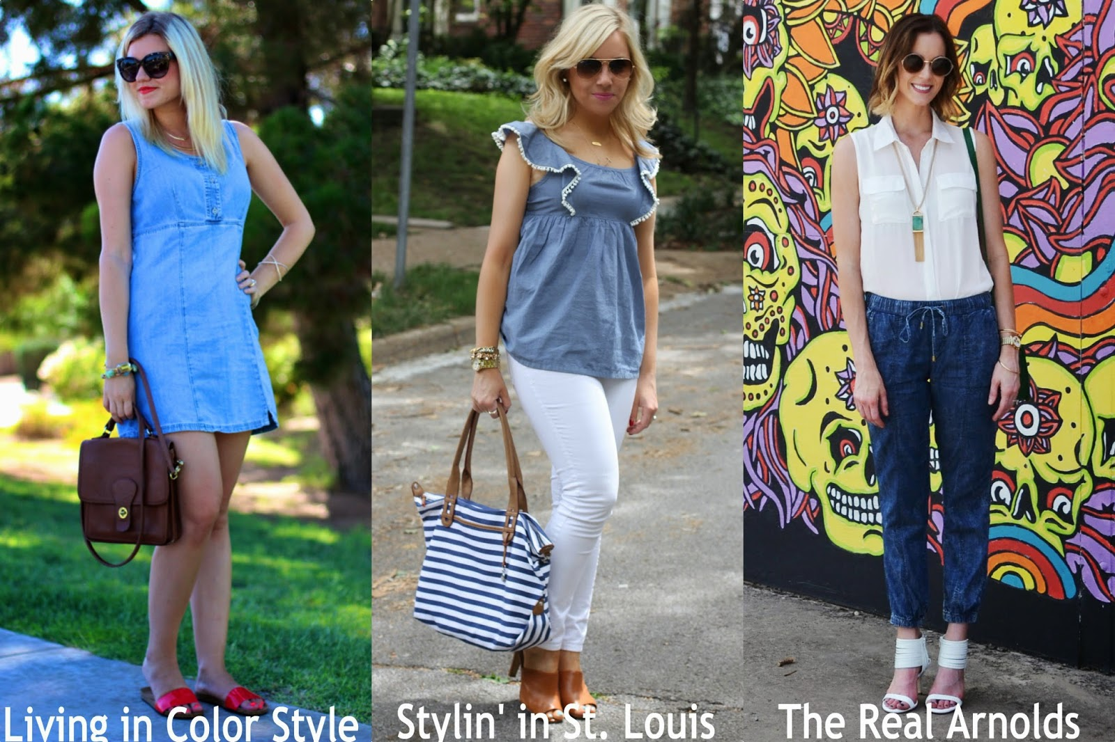 Spotlight Weekly Link-Up | Week 49: Chambray