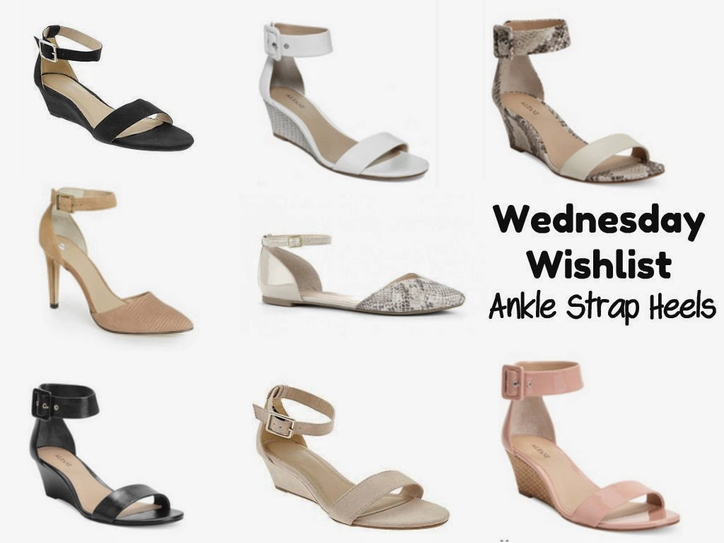 Wednesday Wish List | Ankle Strap Heels