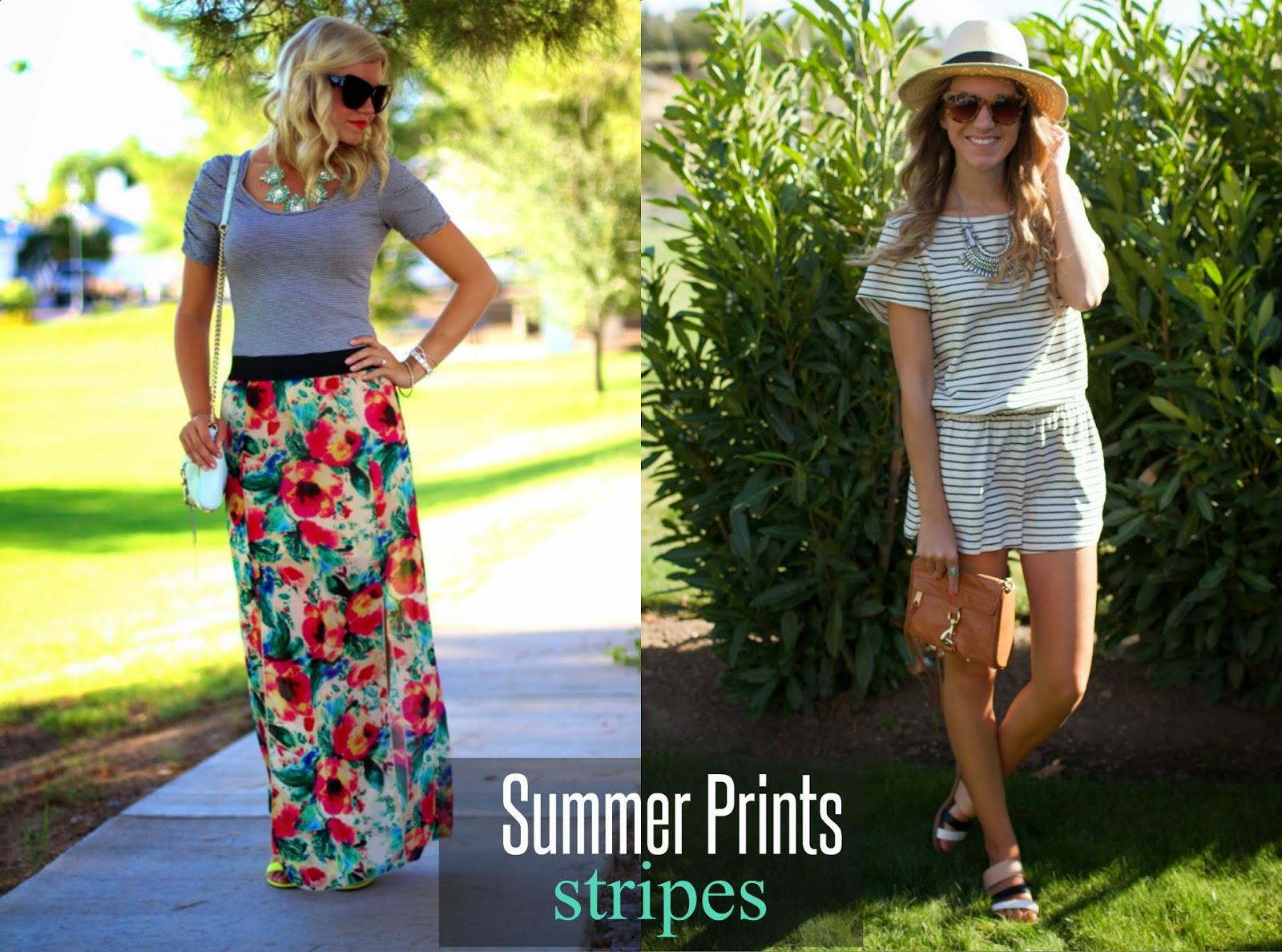 Summer Prints With Ash & Elle | Stripes
