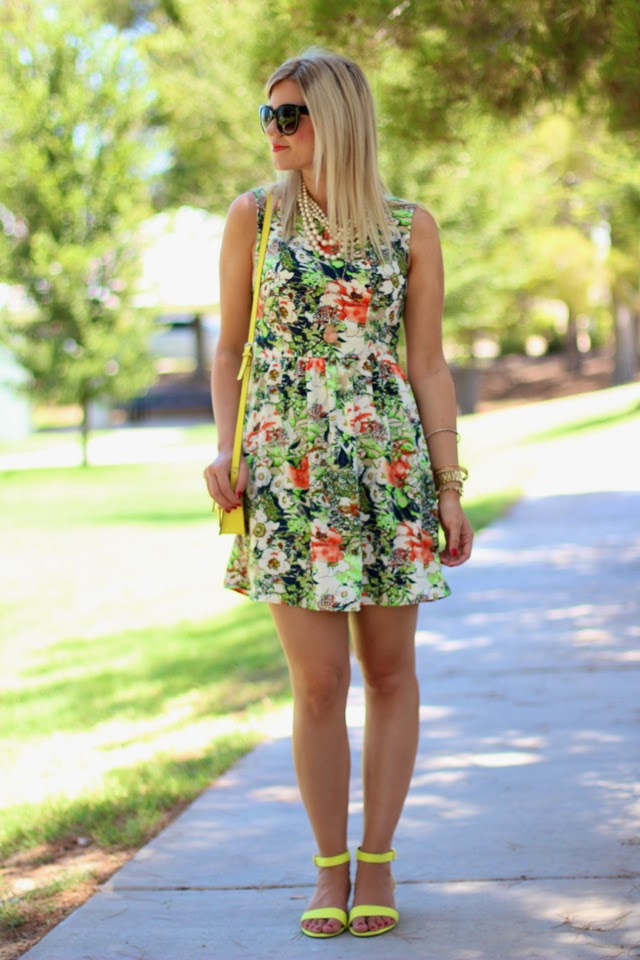 Floral + Neon