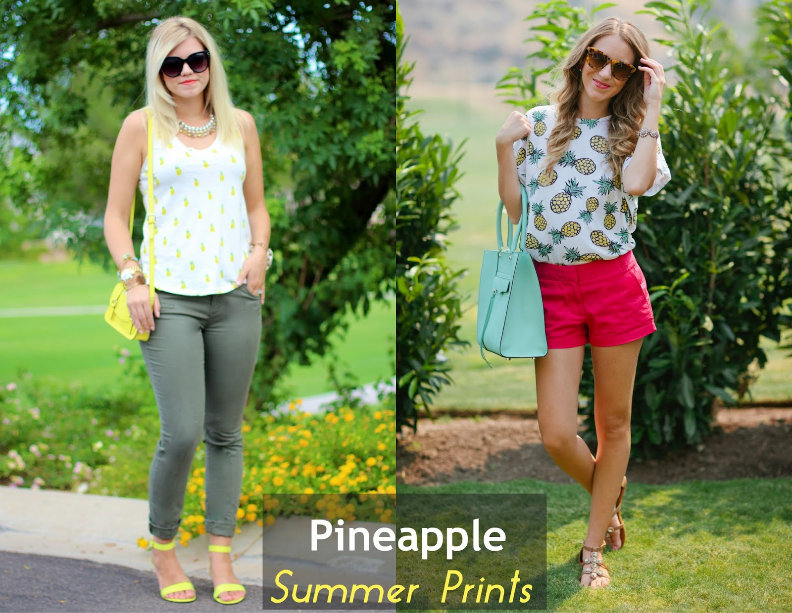 Summer Prints With Ash & Elle | Pineapple