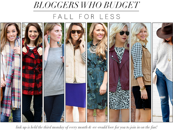 Bloggers Who Budget: Fall For Less