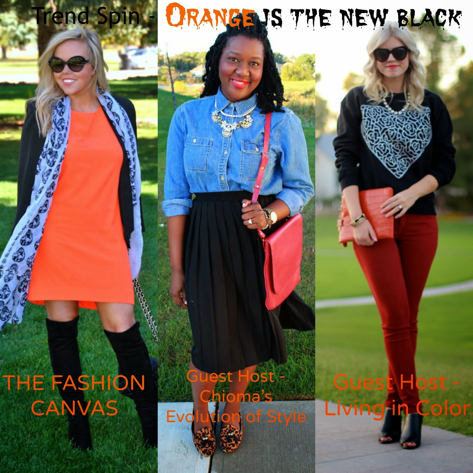 Trend Spin Link-Up | Orange is the New Black