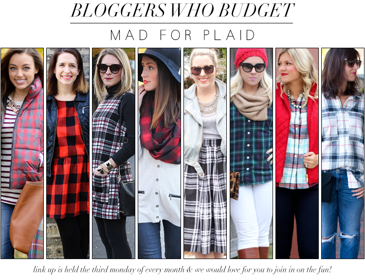 Bloggers Who Budget | Mad for Plaid