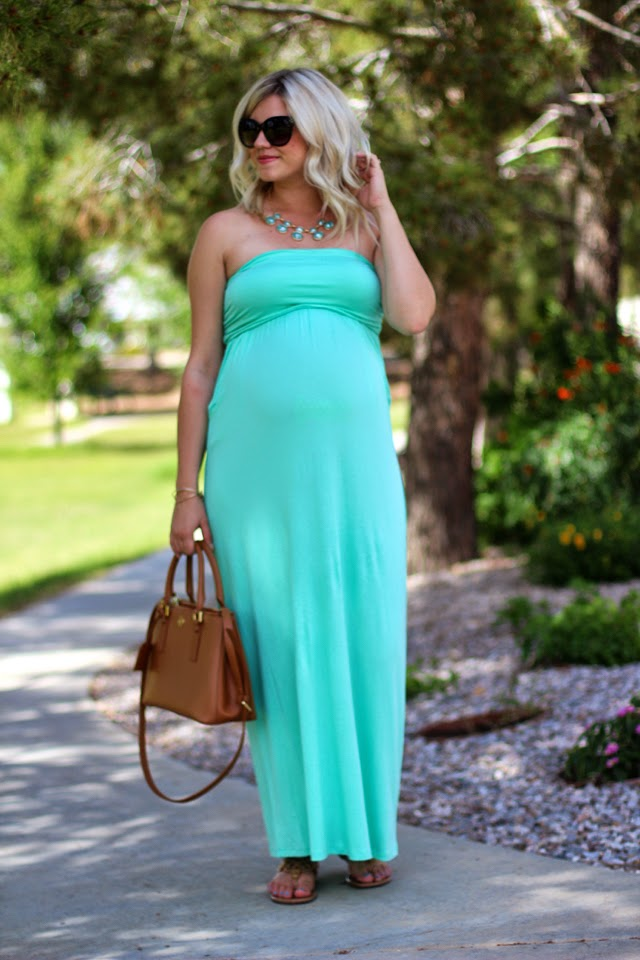 Pregnancy Collaboration | Spring Maxi