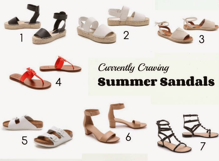 Currently Craving | Summer Sandals