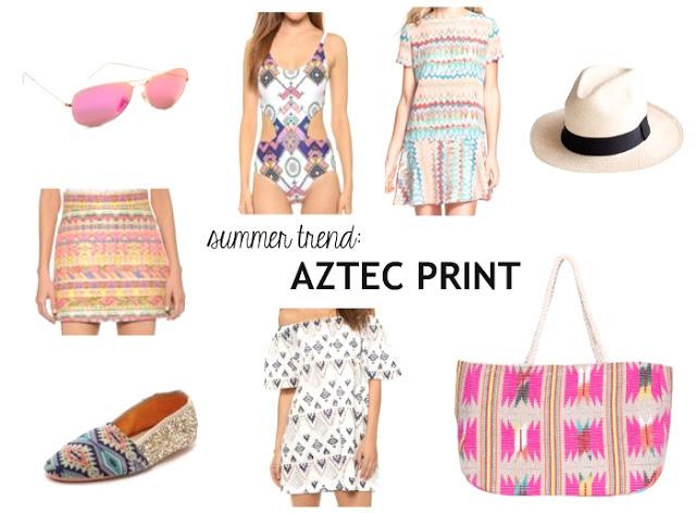 Summer Trend | Aztec Print
