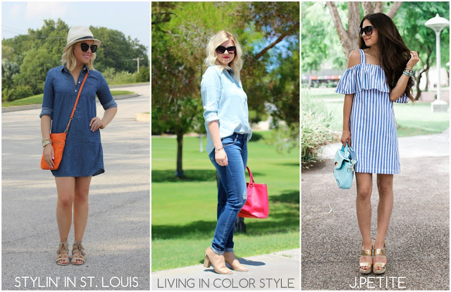 Spotlight Weekly Link-Up | Week 100: Chambray