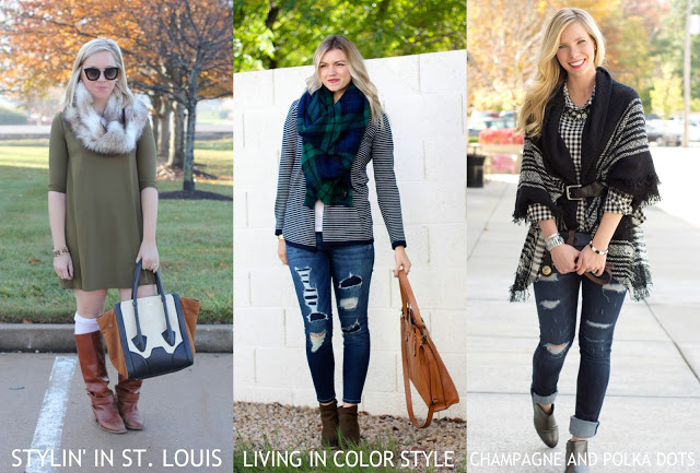 Spotlight Weekly Link-Up | Week 114: Fall Scarves
