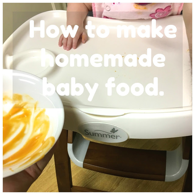 Homemade Baby Food Adventures with Summer Infant | Purées
