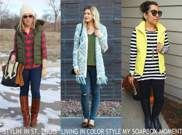 Spotlight Weekly Link-Up | Week 124: Outerwear/Vests
