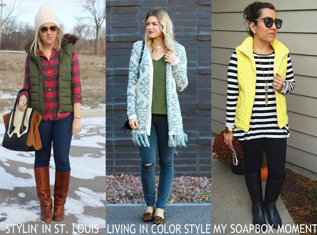 Spotlight Weekly Link-Up | Week 124: Outerwear/Vests