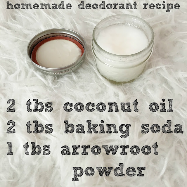 3 Ingredient Homemade Deodorant Recipe by lifestyle blogger Larissa from Living in Color