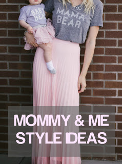 Fashion and Beauty blogger Larissa from Living In Color Blog shares a look at her favorite mommy & me styles. Read more now.