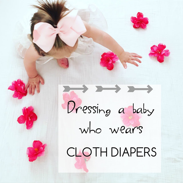 Cloth Diapering | How to Dress Baby by lifestyle blogger Elle of Living in Color