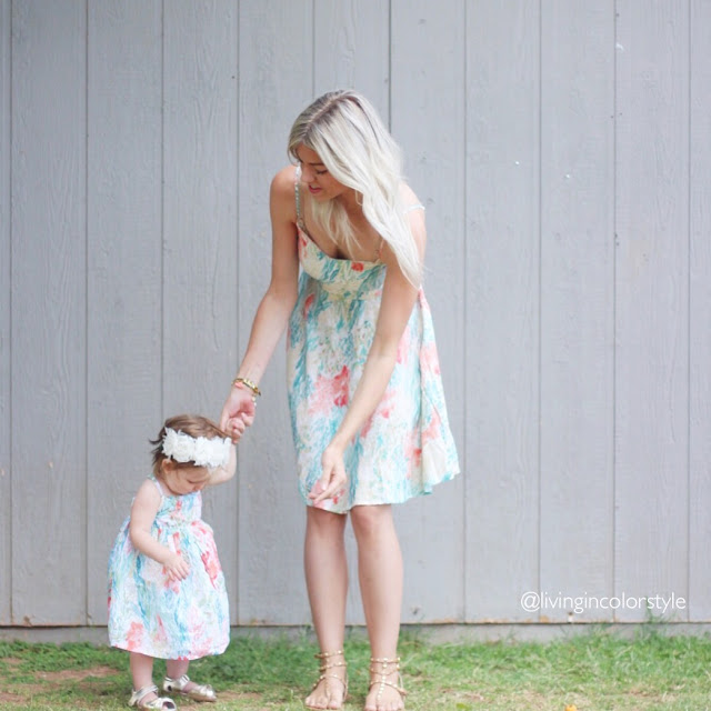 Mommy and Me Floral Dresses