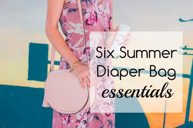 Six Summer Diaper Bag Essentials